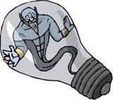 Alain et la lampe de poche merveilleuse