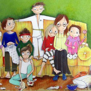 Texte de théâtre à jouer sur le thème de la famille